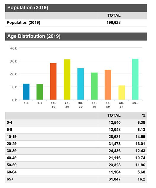 Demographic Snapshot 2019